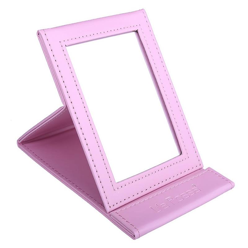Oglinda pentru cosmetica Lila Rossa, roz 2021 shopu.ro