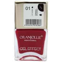 Oja cu efect de gel Oranjollie, 12 ml, numarul 01