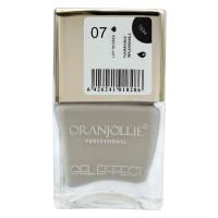 Oja cu efect de gel Oranjollie, 12 ml, numarul 07