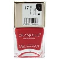 Oja cu efect de gel Oranjollie, 12 ml, numarul 17