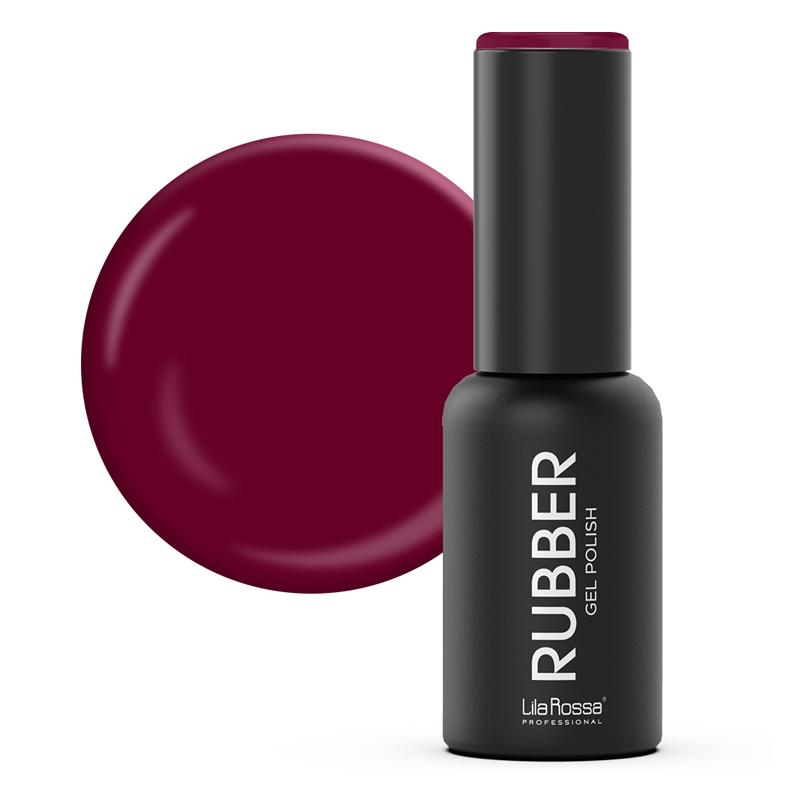 Oja semipermanenta Rubber Lila Rossa 016, 7 ml, Rufous 2021 shopu.ro