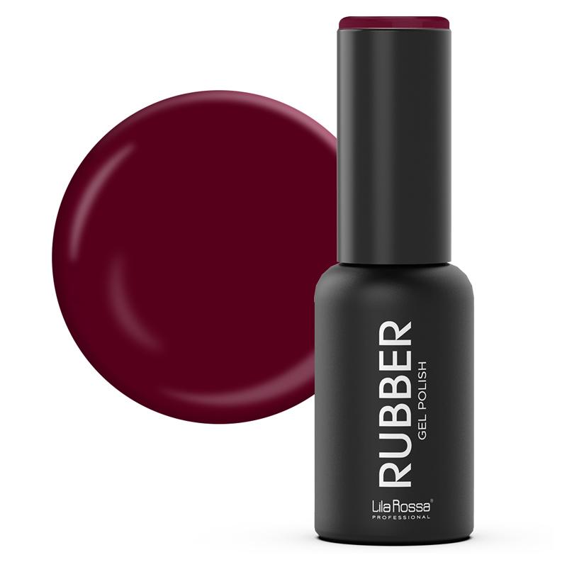 Oja semipermanenta Rubber Lila Rossa 018, 7 ml, Rosso Corso 2021 shopu.ro