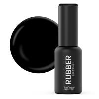 Oja semipermanenta Rubber Lila Rossa 022, 7 ml, Black
