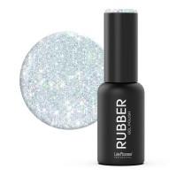 Oja semipermanenta Rubber Lila Rossa 039, 7 ml, Galactic Dust