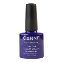 Oja semipermanenta soak off Neon Blue Canni 103, 7.3 ml