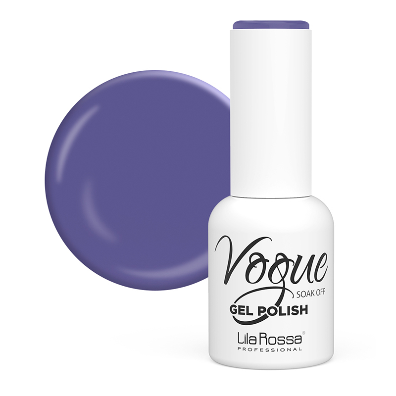 Oja semipermanenta 22 Vogue Lila Rossa, 10 ml, Indigo Pigment 2021 shopu.ro