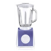 Blender de masa Optima Glass Taurus, 2 viteze, 550 W, Turbo
