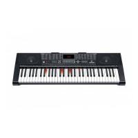 Orga electrica MK-2108, 61 clape ilumintate, 5 octave, USB, Mp3, functie inregistrare, control efecte