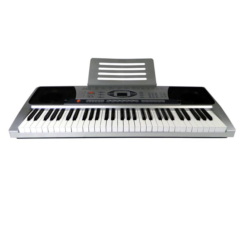 Orga electronica Angelet XTS-6099, 61 clape, display LED, suport partituri 2021 shopu.ro