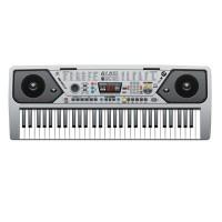 Orga electronica MQ-001UF, USB, 61 clape, 100 timbre, functie MP3, radio FM, reglaj ritm, microfon inclus