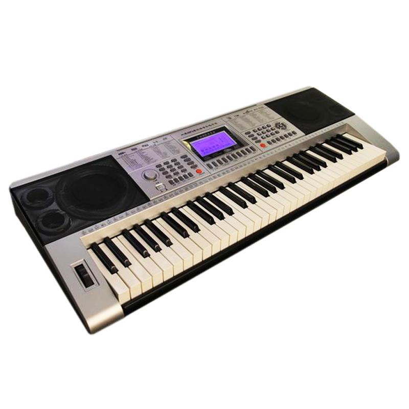 Orga electronica XY-332, 61 clape, micro SD, USB, alimentator inclus 2021 shopu.ro