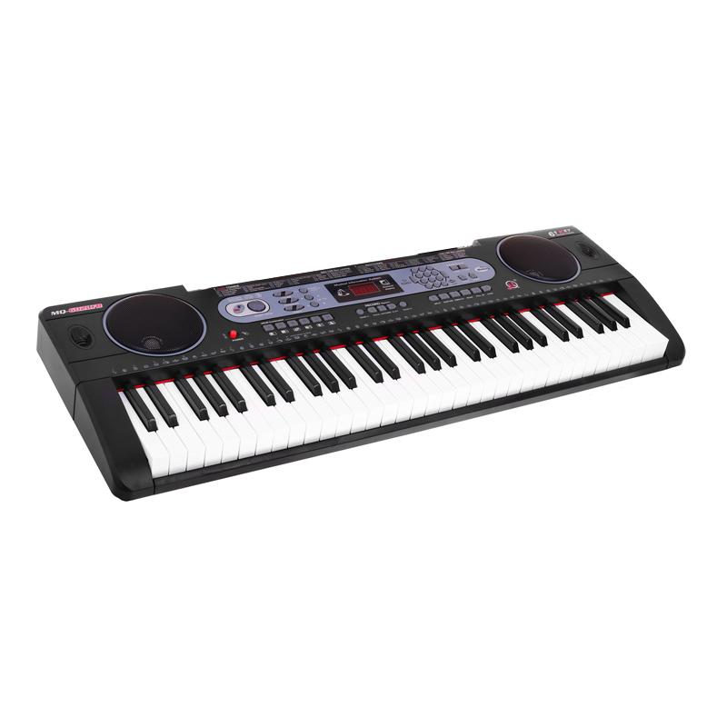 Orga electronica MQ-607, 61 de clape, USB, 200 ritmuri/200 tonuri, microfon inclus 2021 shopu.ro