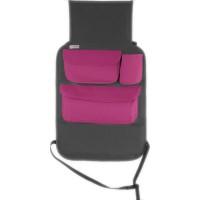 Organizator auto cu suport pentru tableta Tuloko TL002, gri/roz