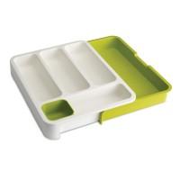 Organizator pentru sertar, 29 x 48 x 5 cm, 4 compartimente