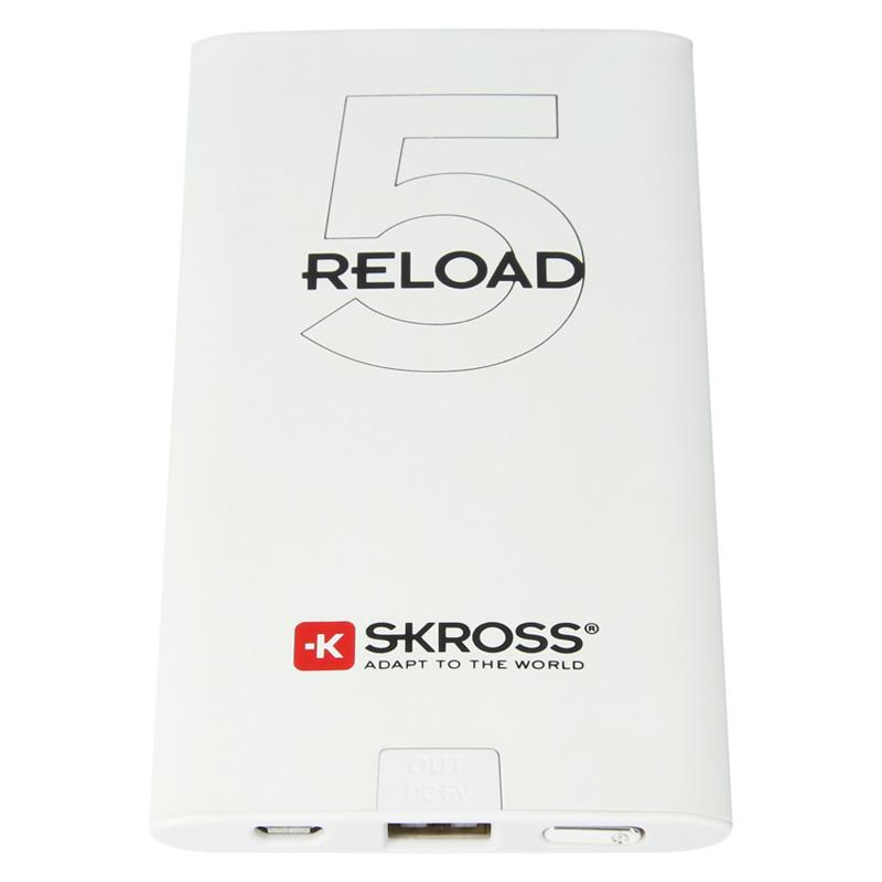 Acumulator portabil Skross, 5000 mAh, USB 2021 shopu.ro