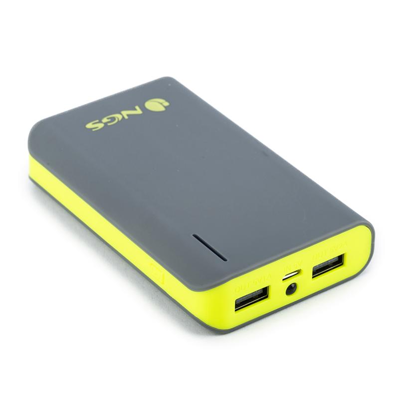 Acumulator portabil Powerpump NGS, 6600 mAh, Galben 2021 shopu.ro