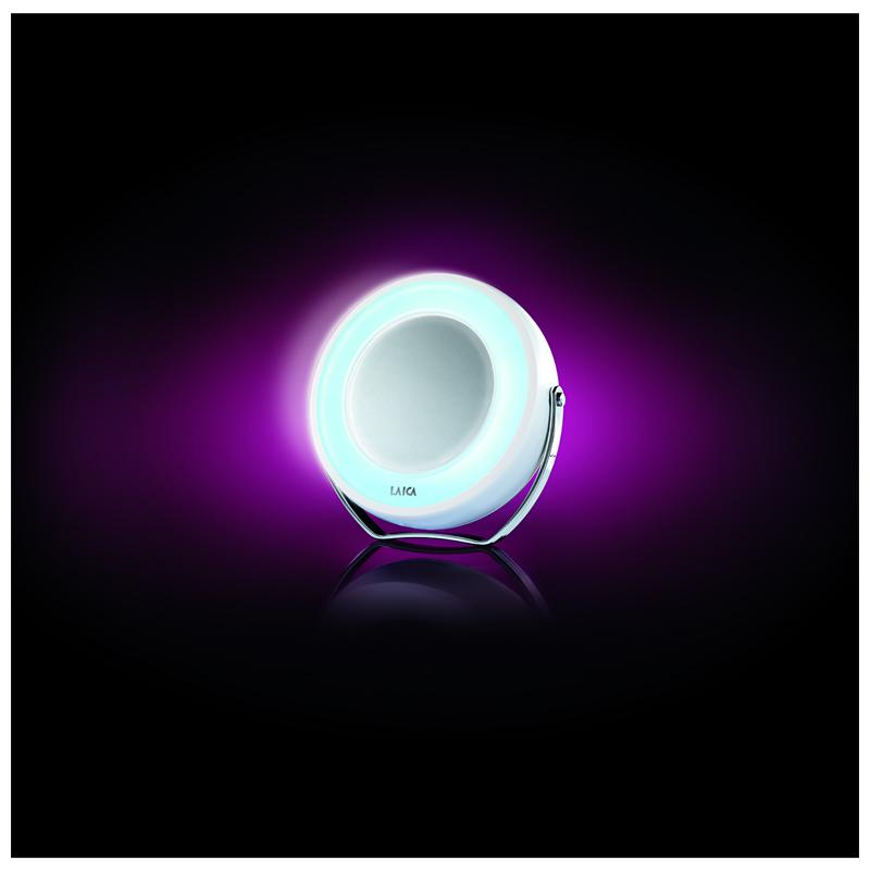 Oglinda cu iluminare Laica PC5002, factor de marire 5x 2021 shopu.ro