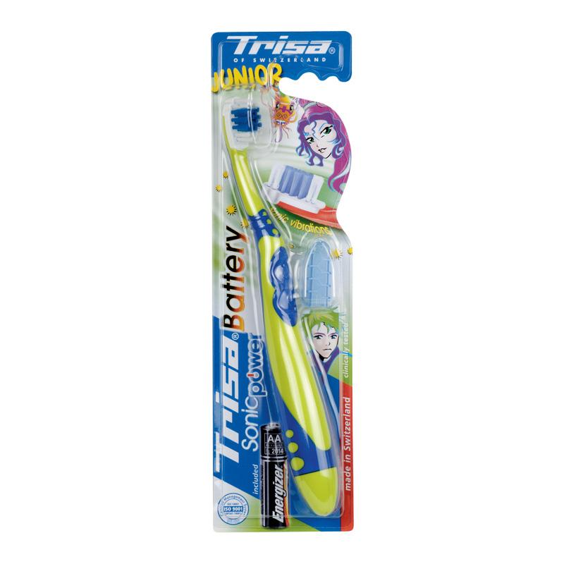 Periuta de dinti electrica Sonic Power Junior Trisa, Blue