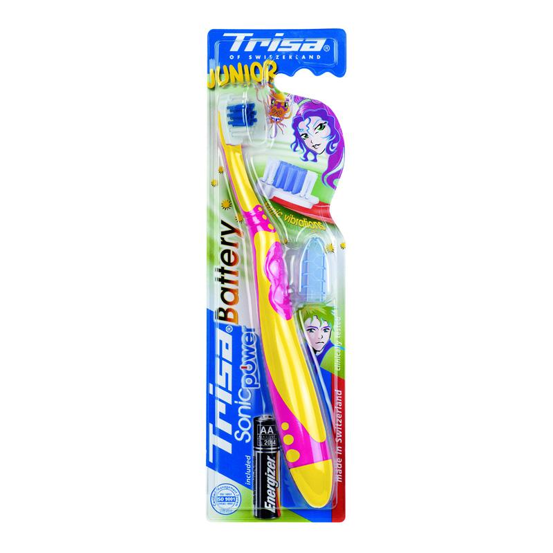 Periuta de dinti electrica Sonic Power Junior Trisa, Pink