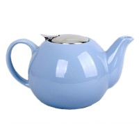 Ceainic ceramica cu sita Peterhof, 1.25 l, albastru