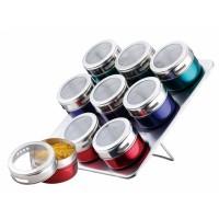 Set condimente Peterhof, 10 piese, Multicolor