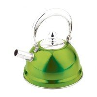 Ceainic inox cu sita Peterhof PH-15517, 0.7 l, verde
