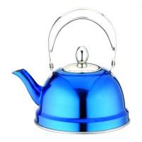 Ceainic din inox cu sita Peterhof PH-15520, 0.7 l, albastru