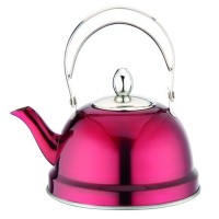 Ceainic inox cu sita Peterhof PH-15520, 0.7 l, rosu