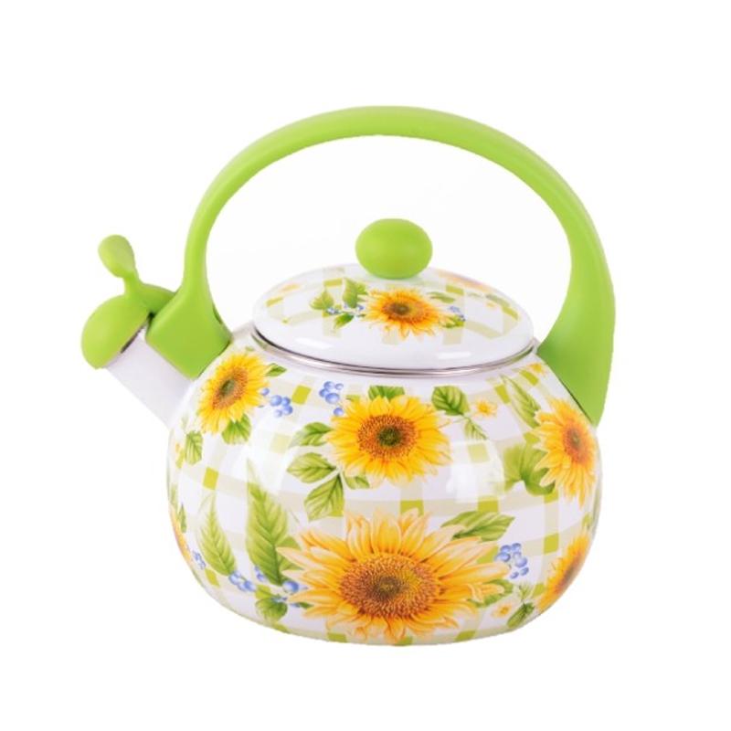 Ceainic email Peterhof PH-15522, 2 l, motive florale