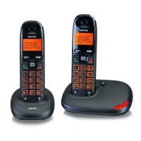Telefon portabil Duo DC50022 Switel, functia handsfree, Negru