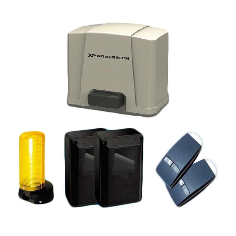 Kit pentru porti culisante Powertech PL-400, 2 telecomenzi