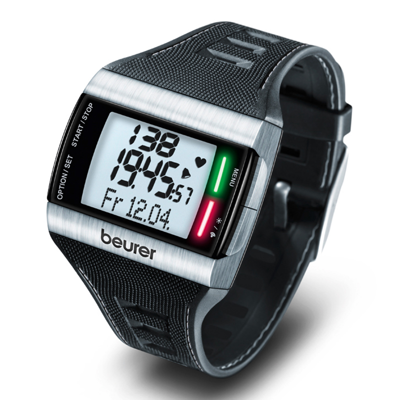 Ceas digital monitorizare puls Beurer, functie cronometru 2021 shopu.ro