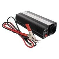 Invertor de tensiune Well, 12V-220V, 1000 W, USB