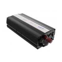 Invertor de tensiune Well, 12V, 600 W, USB