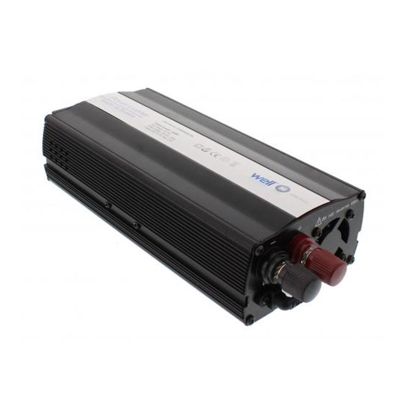 Invertor de tensiune Well, 12V, 600 W, USB 2021 shopu.ro
