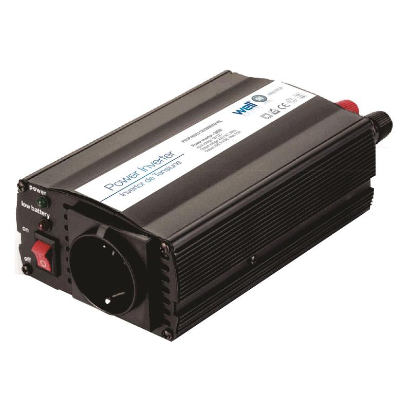 Invertor tensiune HQ, 24-220 V, 300 W, USB 2021 shopu.ro