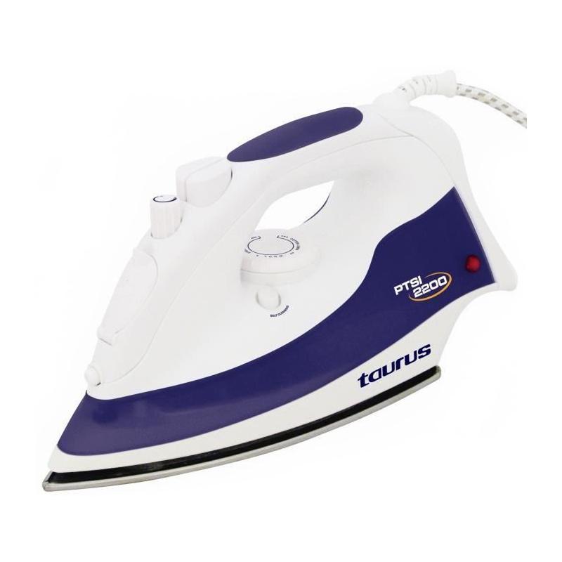 Fier de calcat PTSI 2200 Taurus, 2200 W, 300 ml, termostat, talpa inox 2021 shopu.ro