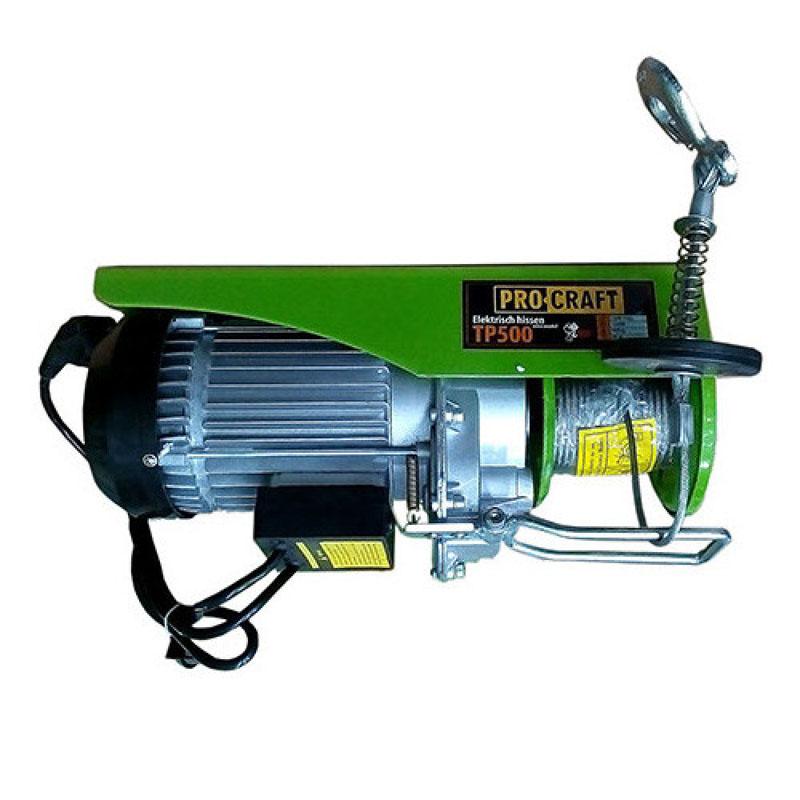 Palan electric ProCraft TP-500, 1020 W, maxim 500 kg, cablu 20 m 2021 shopu.ro