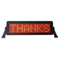 Panou LED programabil, telecomanda, memorie 36 mesaje
