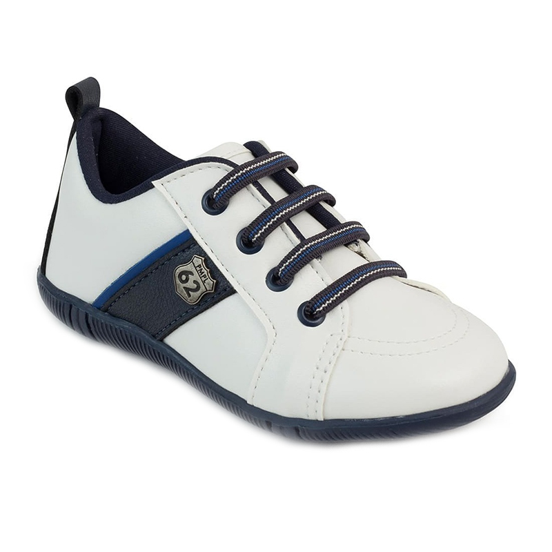 Pantofi Pimpolho, marimea 24, 14.7 cm, 19-24 luni, Alb/Albastru 2021 shopu.ro