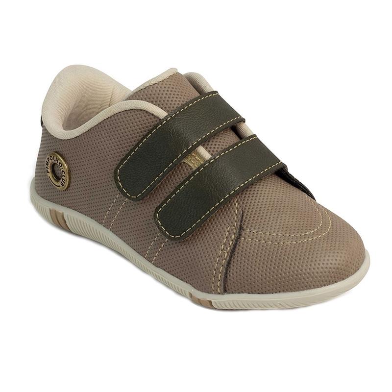 Pantofi Pimpolho, marimea 24, 14.7 cm, 19-24 luni, Maro/Bej 2021 shopu.ro