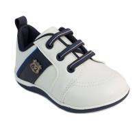 Pantofi Pimpolho, marimea 19, 11.3 cm, 8-9 luni, Alb/Albastru