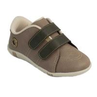 Pantofi Pimpolho, marimea 25, 15.3 cm, 29 luni, Maro/Bej