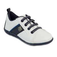 Pantofi Pimpolho, marimea 29, 18 cm, 4.5 ani, Alb/Albastru