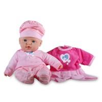 Papusa bebelus Mother Love, 30 cm, Roz