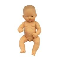 Papusa bebelus asiatic baiat Miniland, 32 cm