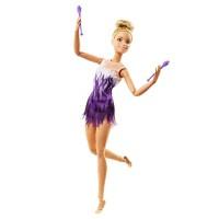 Papusa gimnasta Barbie Made to Move, 3 ani+