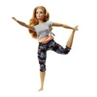Papusa miscari multiple Barbie Made to Move, 3 ani+