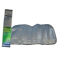 Parasolar folie aluminiu 1 fata, 60 cm x 130 cm