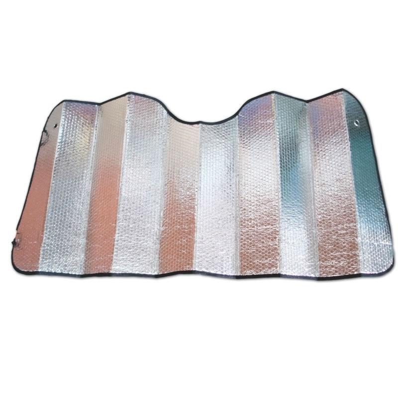 Parasolar folie aluminiu 2 fete, 70 cm x 150 cm 2021 shopu.ro
